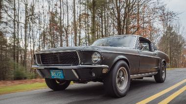1. Bullitt 1968 Ford Mustang GT390